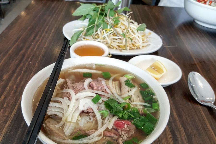 Pho Kim Long Restaurant für das beste Pho in Melbourne