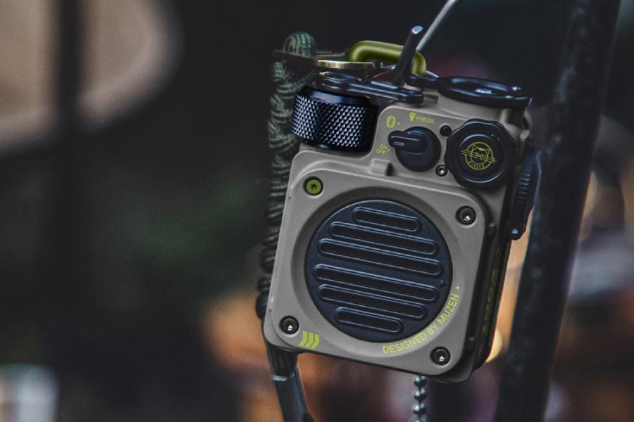 Muzen Wild Mini ist der ultimative Outdoor Adventure Speaker