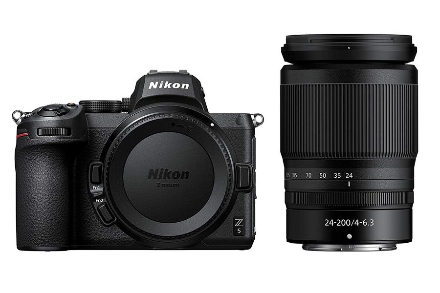 Nikon Z 5 + NIKKOR Z 24-200 mm 1: 4-6,3 Kit
