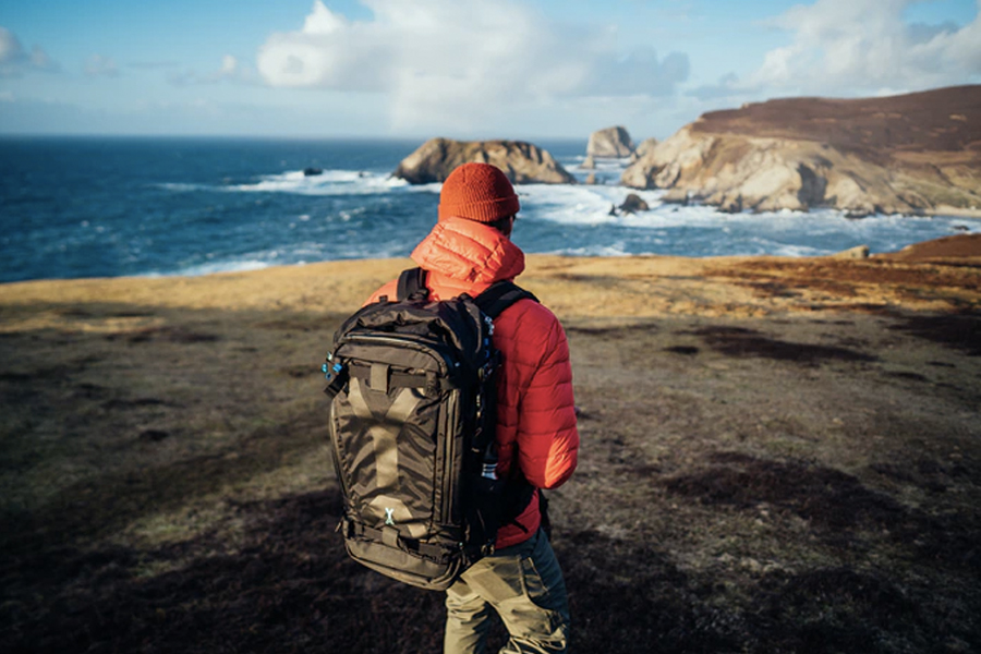 Fjord Rugged, Lightweight Photography Backpack Series Lass uns noch weiter gehen