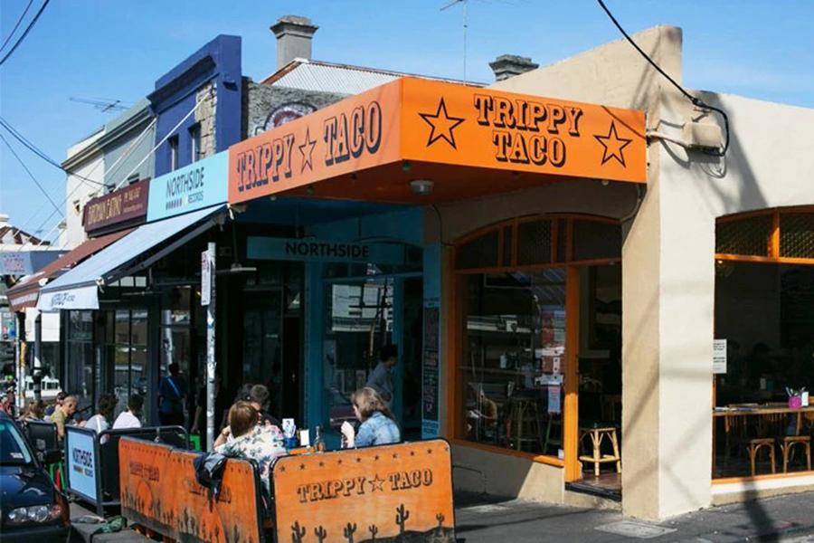 Trippy Taco Vegane Restaurants in Melbourne