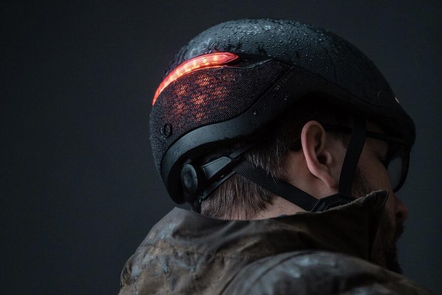 Der App-gestützte Smart Helmet von FARO überwacht Ihre Fahrt