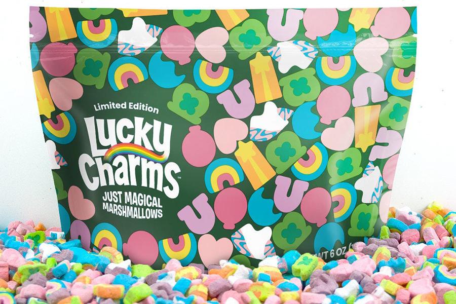 Lucky Charms Pouch ist nur Magic Marshmallows