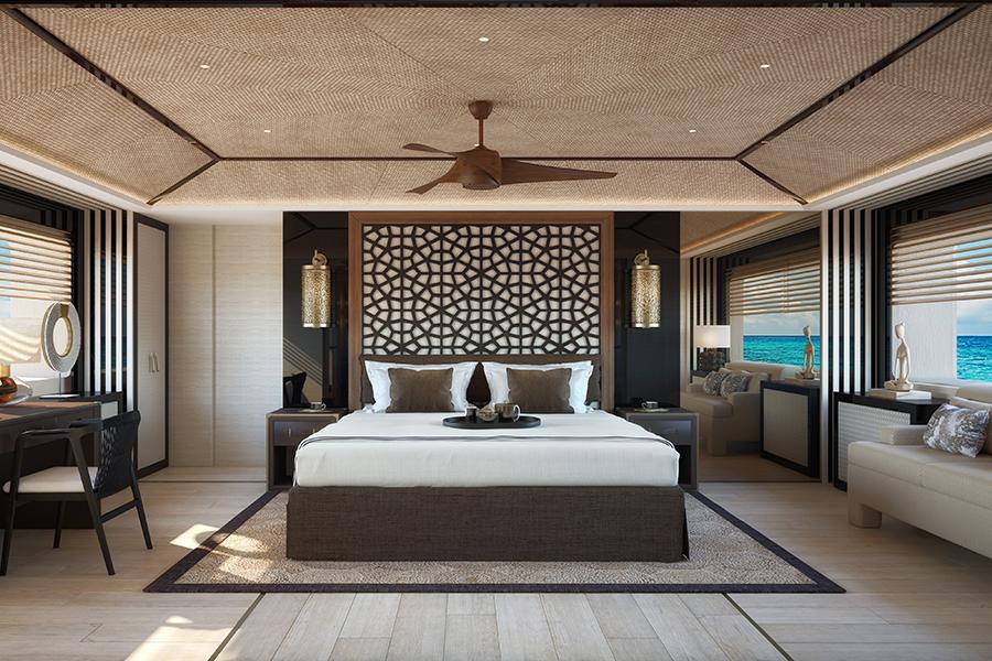 Dynamiq präsentiert das neu gestaltete Schlafzimmer GTT 165.