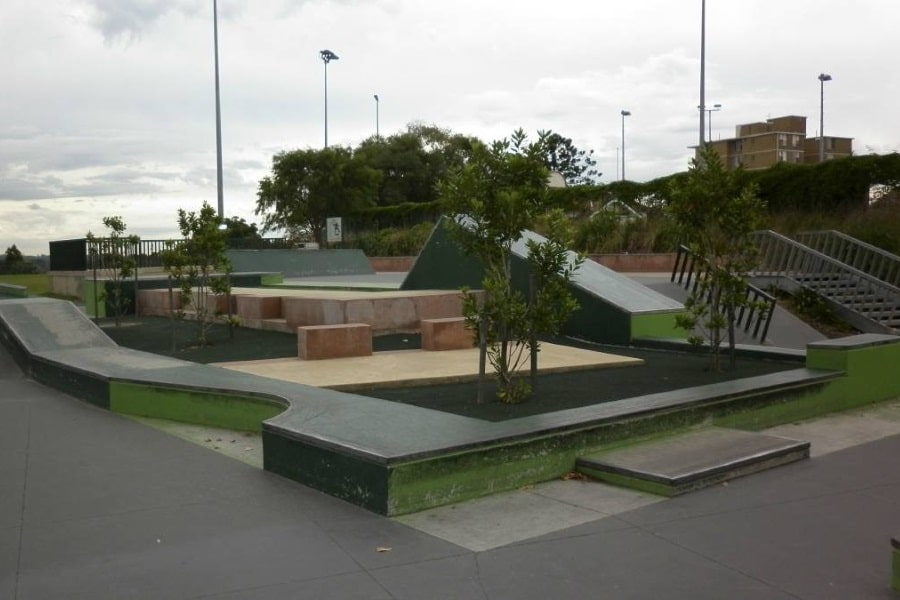 North Sydney Skate Plaza