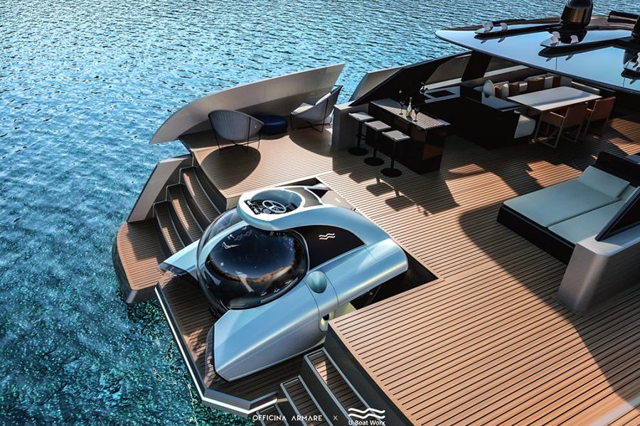 Aquanaut Yacht Deck Blick