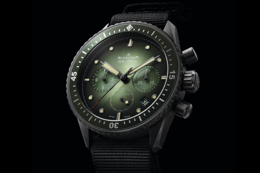 New Blancpain fünfzig Faden Uhr