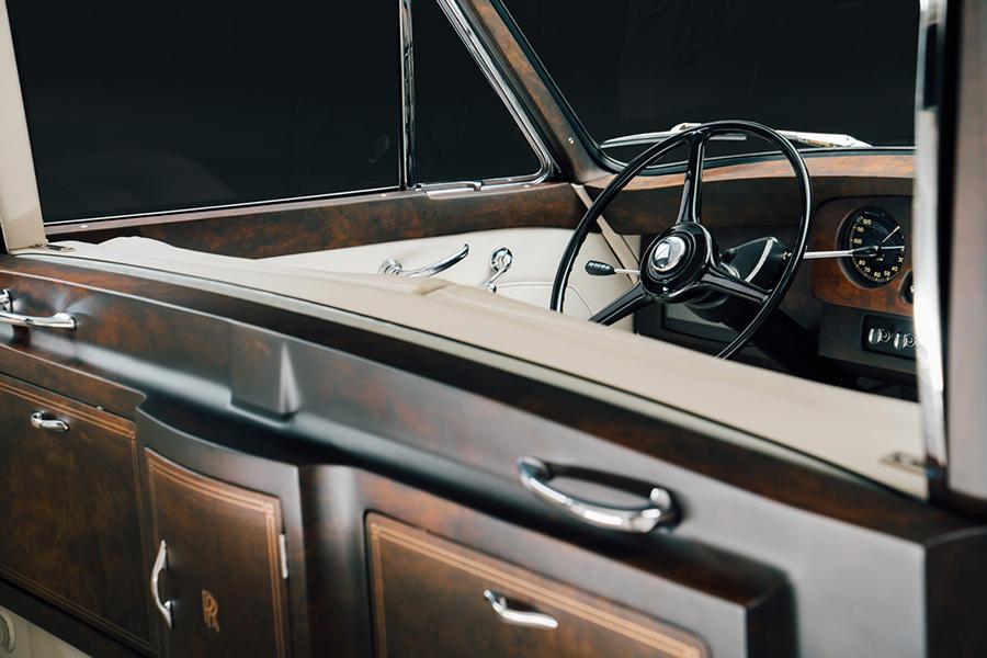 Rolls Royce Phantom V Konzept Dashboard
