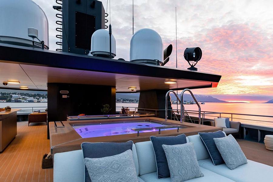 Burgess Yachts Ragner Aussichtsdeck