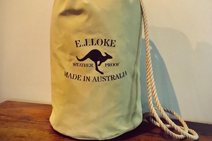 EL Joke Aussie Canvas Taschen
