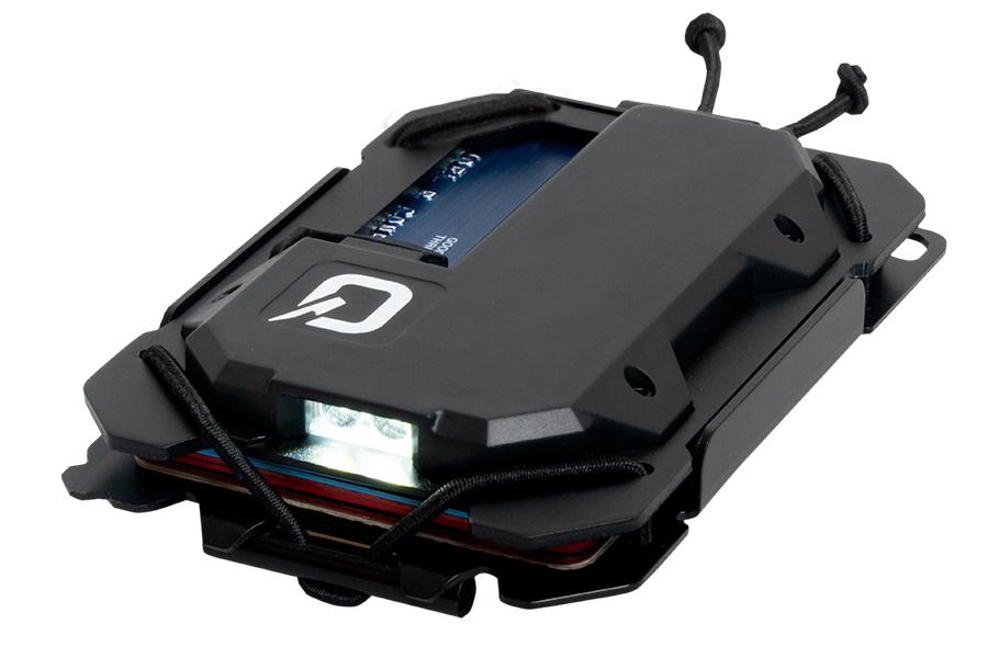 Brieftasche mit eingebauter Taschenlampe