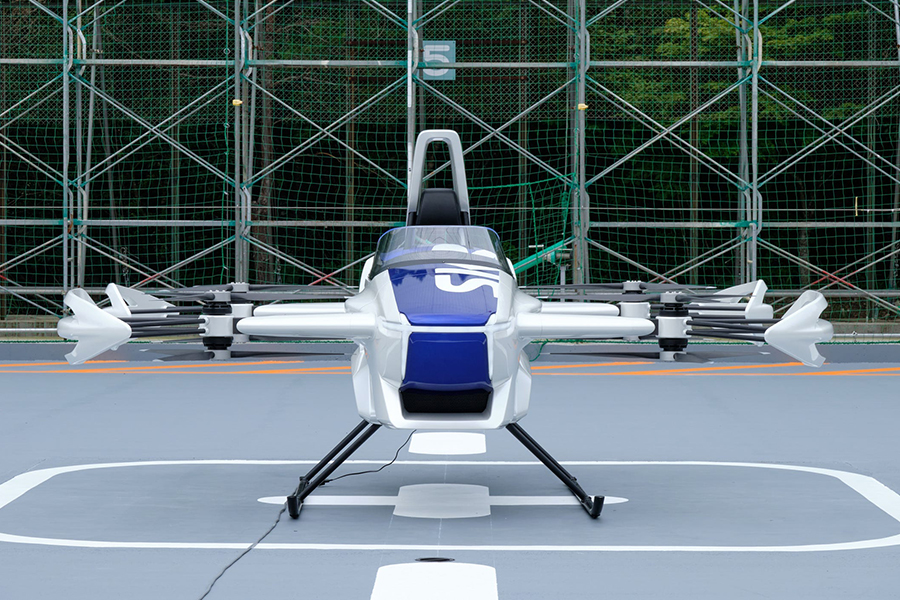 SkyDrive Flying Car vorne