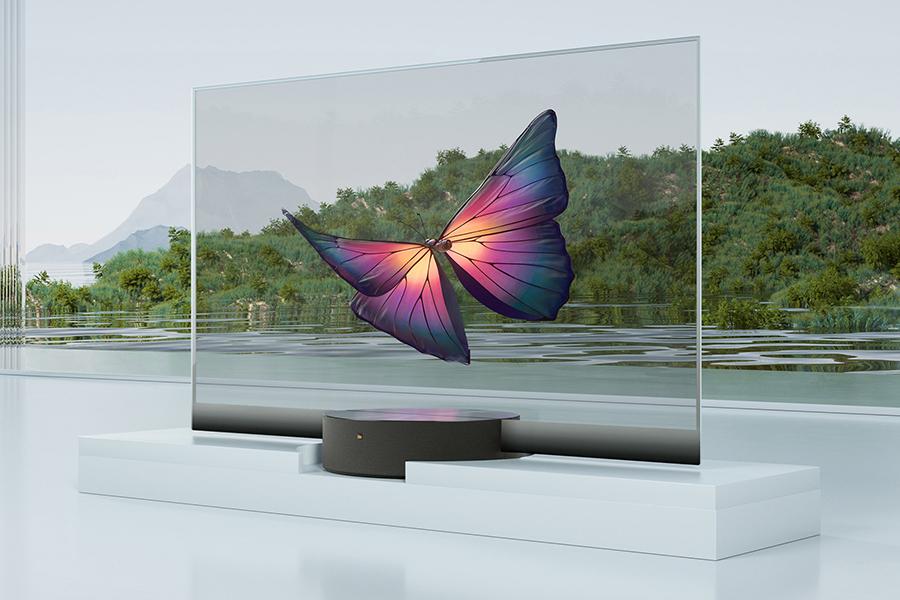 Xiaomi Seethrough TV