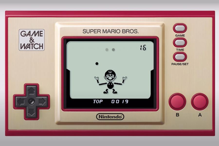 Game and Watch setzt die originalen Super Mario Bros auf einen Handcursor