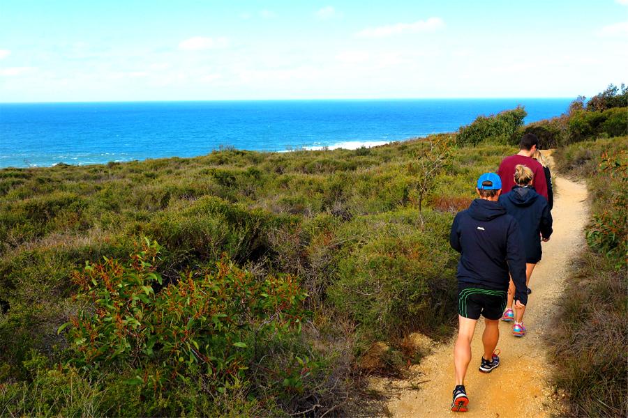 Wanderweg Bells Beach - Ironbark Basin