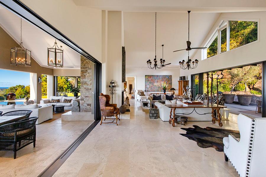 Noosa House $ 15 Millionen Hauptloungebereich