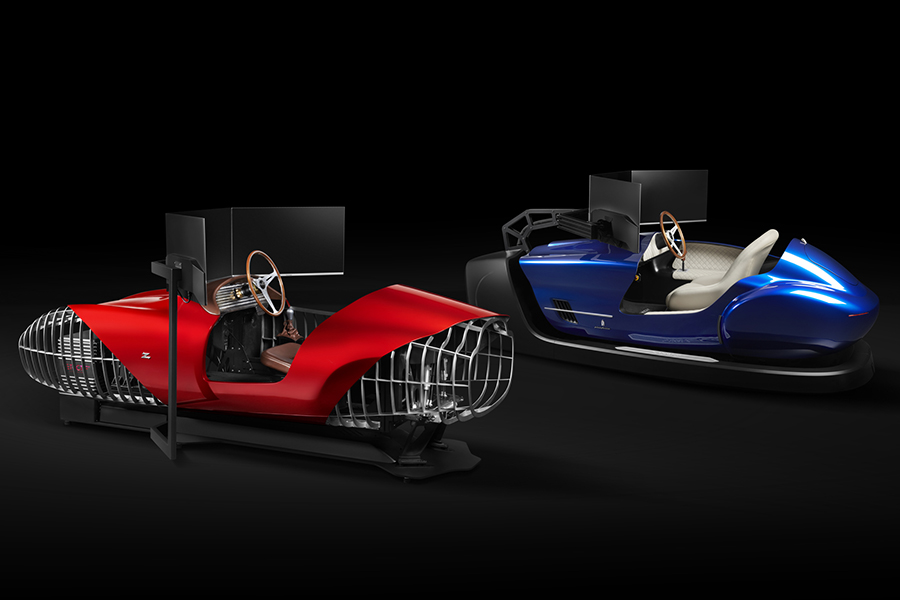 Der TCCT eClassic Racing Simulator stellt die Vergangenheit virtuell wieder her