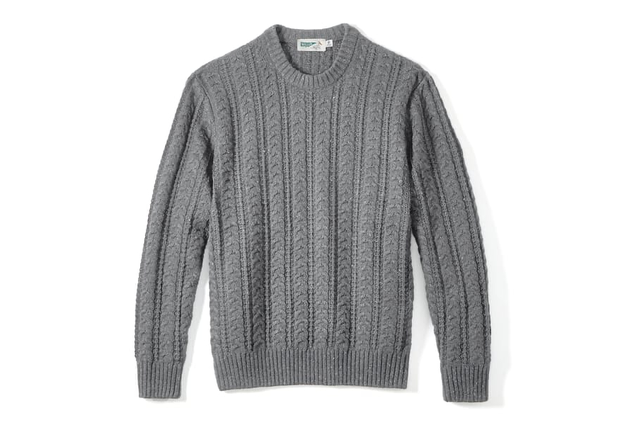 Wellen Seawool Fisherman Sweater