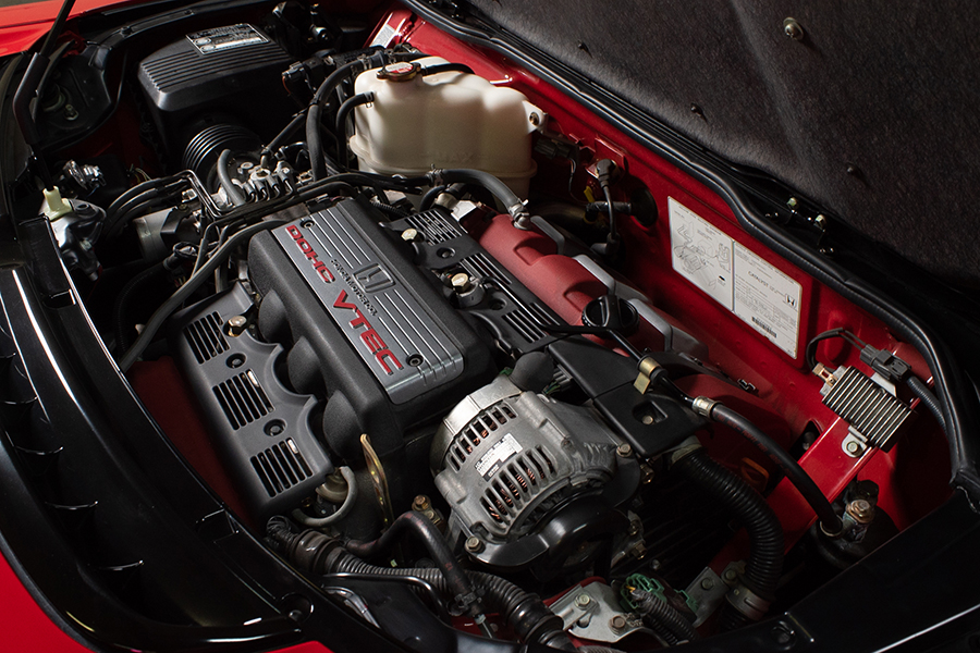 Ein-Besitzer 12k-Mile 1999 Acura NSX Zanardi Edition # 51 Motor