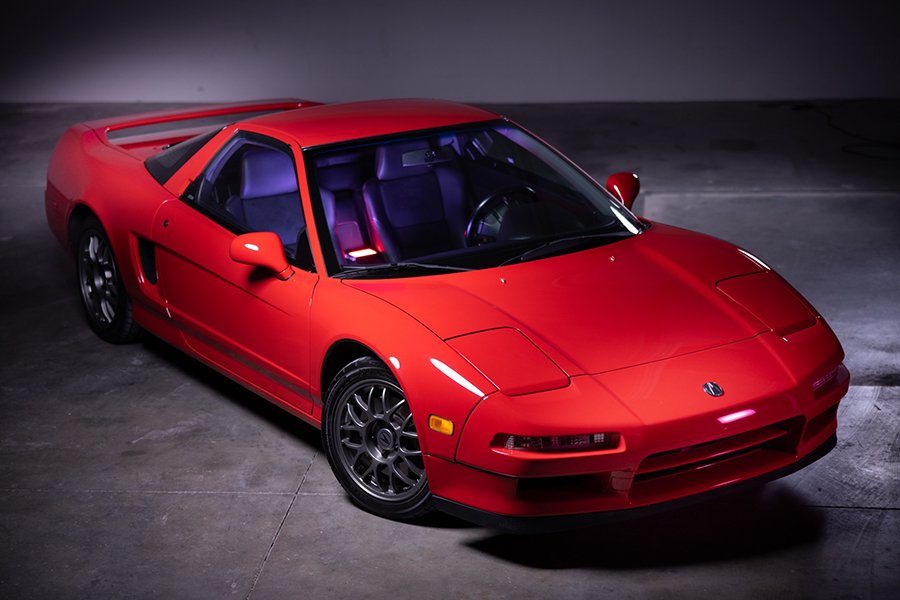 1999 Acura NSX Zanardi Edition verkauft mit nur 12K Meilen