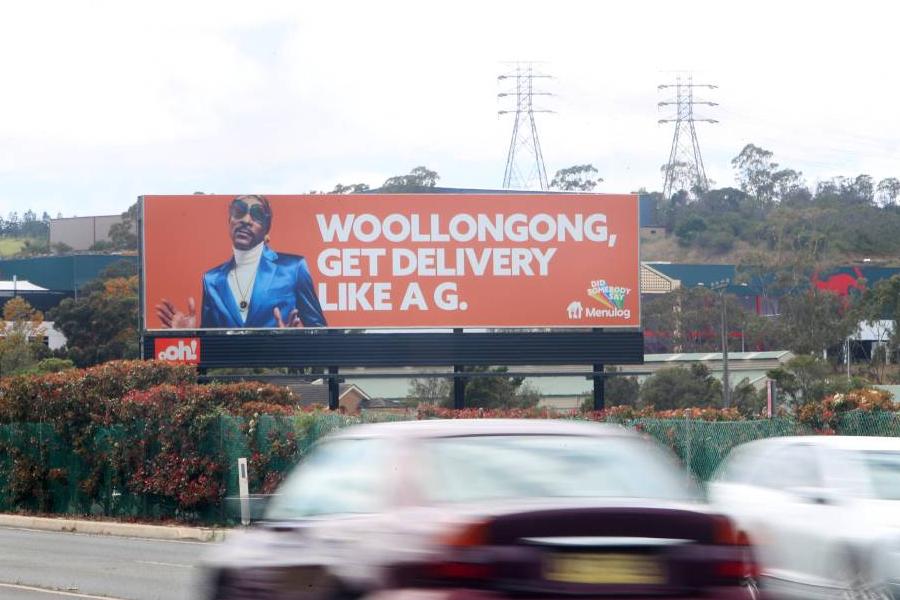 The Billboard Fail That erzielte Menulog-Fans einen Whopper-Deal
