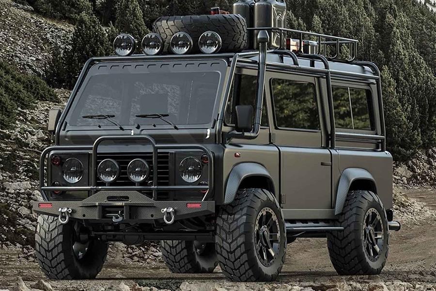 Land Rover Defender Van bereitet Fußballmütter auf die Apokalypse vor