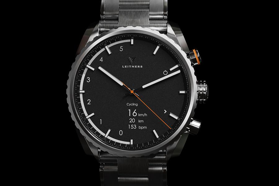 Leitners Hybrid-Smartwatch injiziert mechanisches Design mit intelligenter Funktionalität