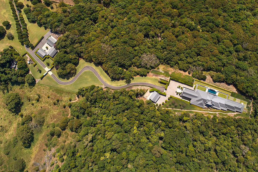 Noosa House 15 Millionen US-Dollar Luftbild