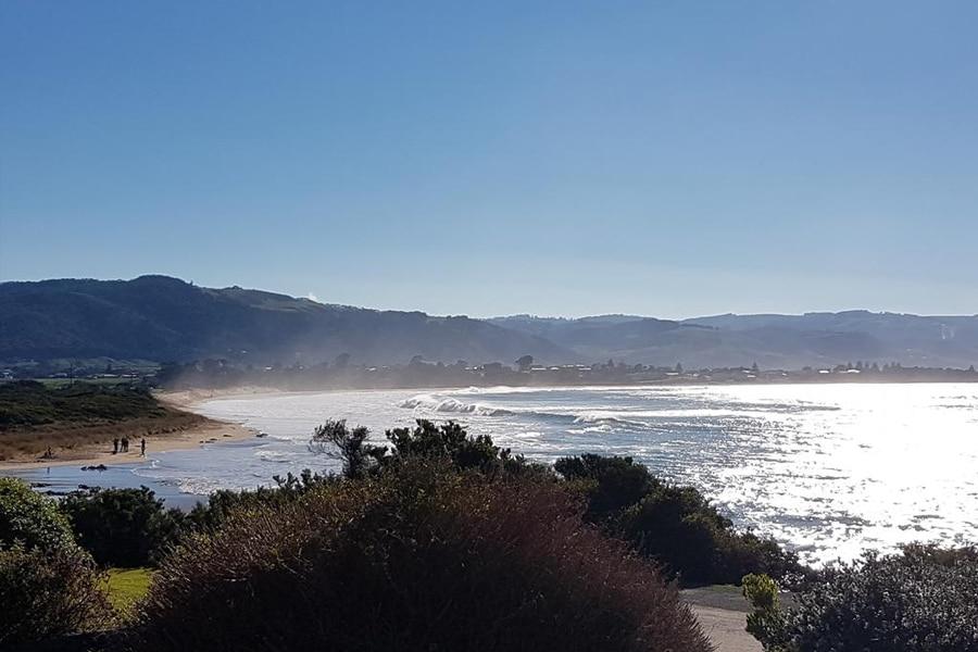 Marengo Nationalpark mit Blick auf den Strand