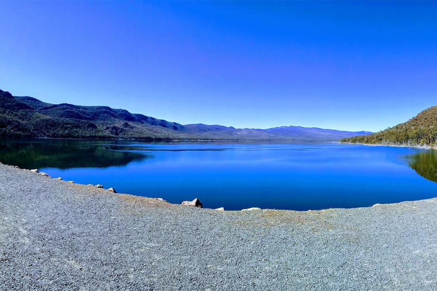 Bild des Sees