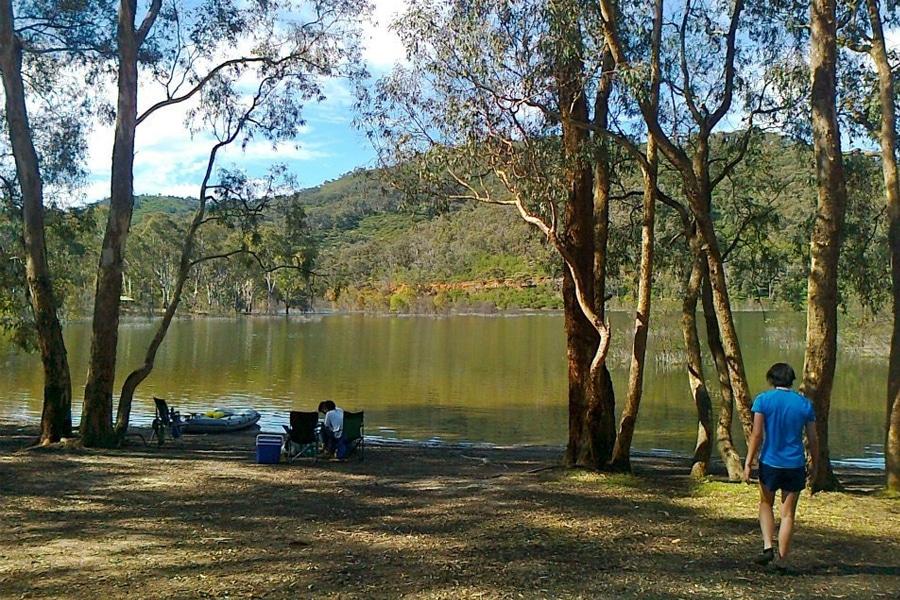 Fraser Campingplatz See Eildon Nationalpark