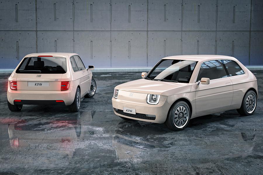 Fiat 126 Vision Autos