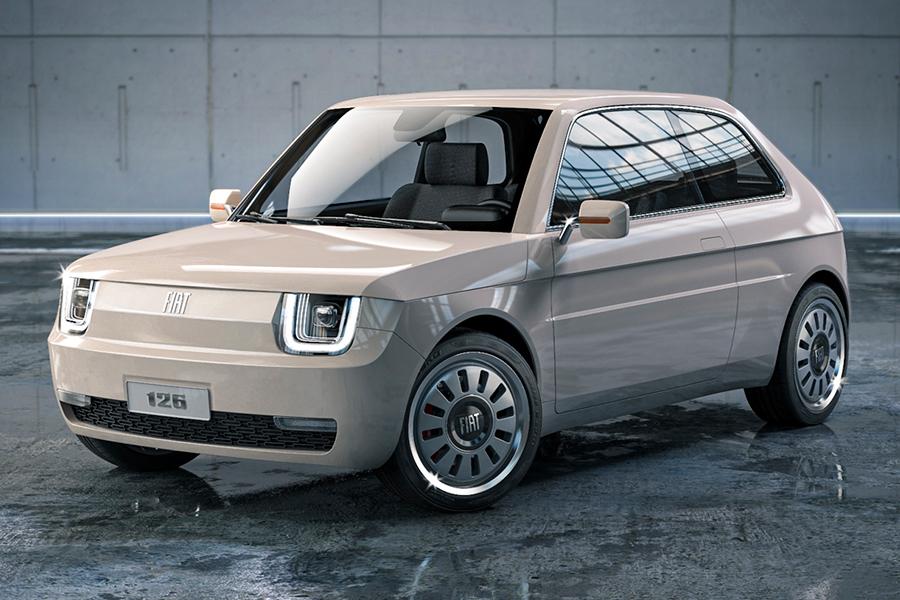 Fiat 126 Vision bringt eine gefeierte Vergangenheit in die Zukunft