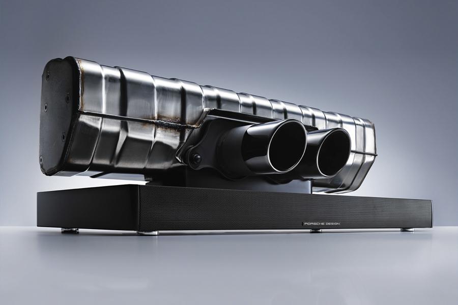Porsche Design gibt Sportwagensound mit 911 Soundbar