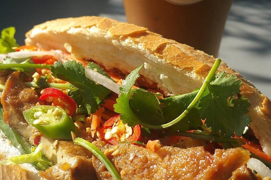 Finas vegetarisches Cafe Banh Mi Melbourne