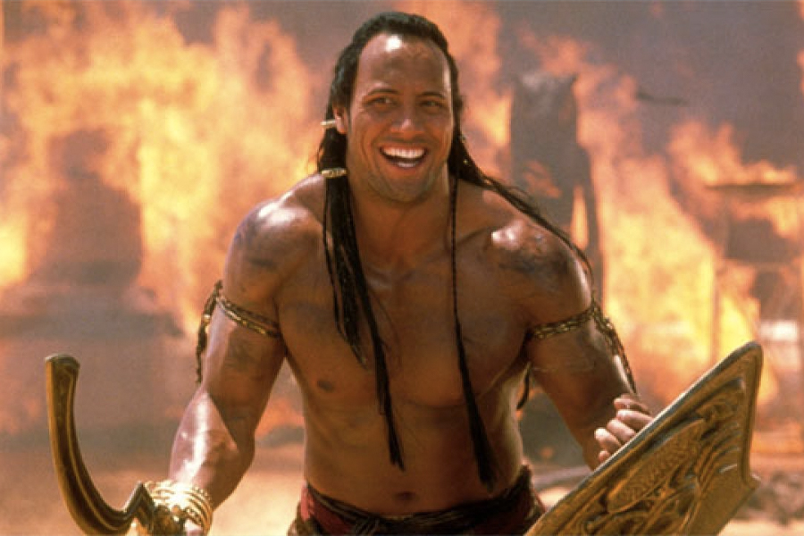 "Dwayne Johnson startet ""The Scorpion King"" in all seiner lächerlichen Pracht neu"