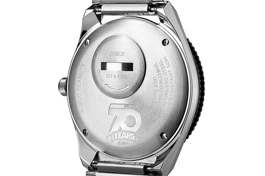 Timex Q Neuauflage mit Erdnussstempel zurück
