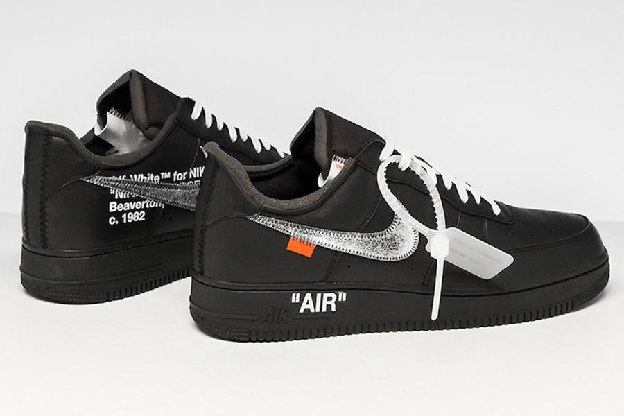 Virgil Abloh kündigt Off White Nike Black an