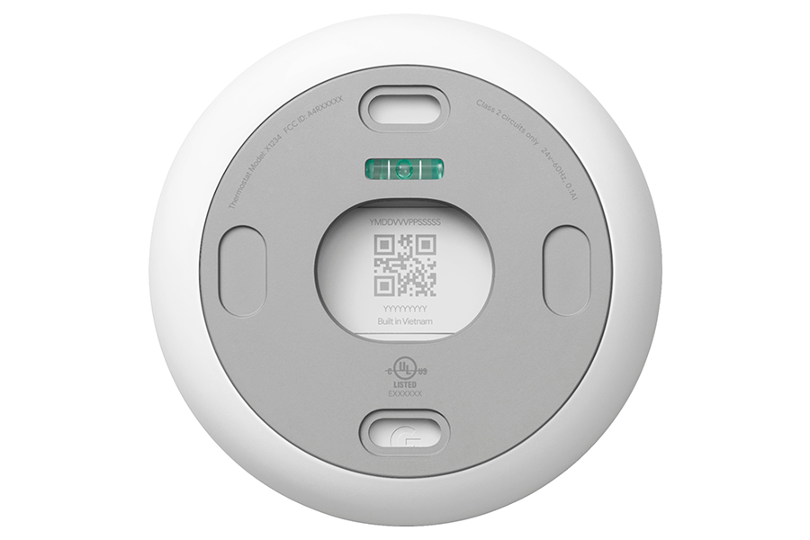 Google Thermostat zurück
