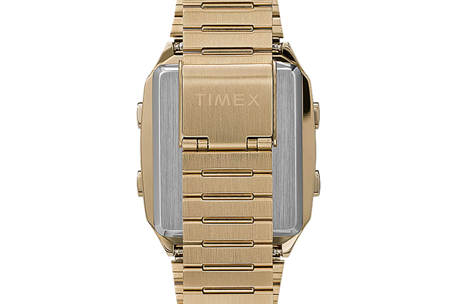 Timex Q Neuauflage mit digitalem LCA-Armband