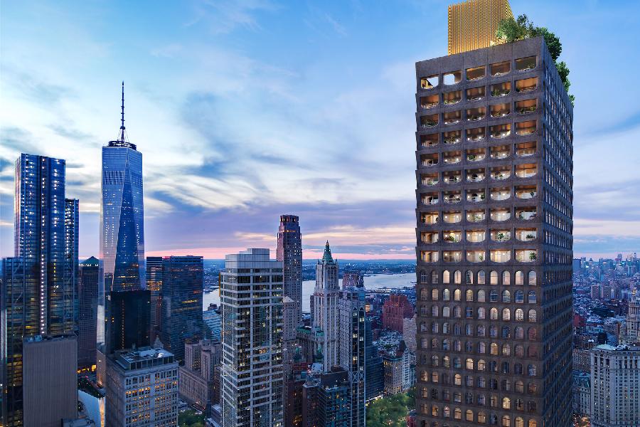 Aston Martin und Sir David Adjaye haben gerade 5 der luxuriösesten Häuser New Yorks entworfen