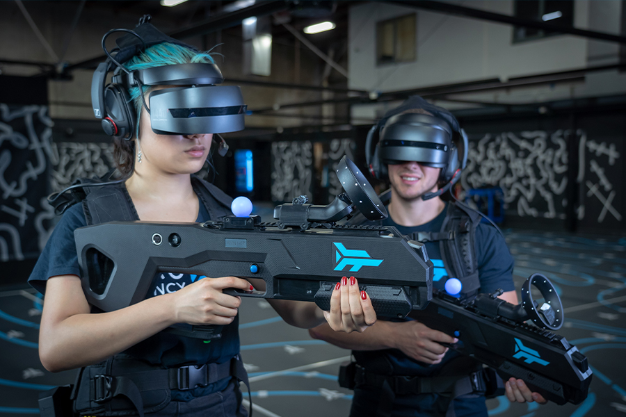 In Sydney wird eine riesige VR-Arena ohne Latenz gestartet