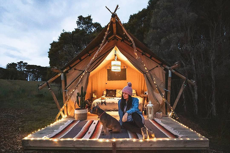 Die Sheltered Glamping Company Melbourne