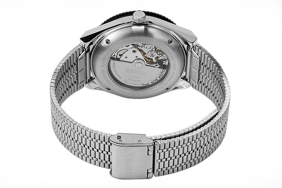 Timex M79 Black Lünette Uhr
