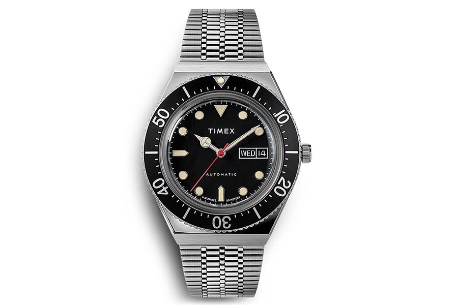 Timex M79 Schwarze Lünette