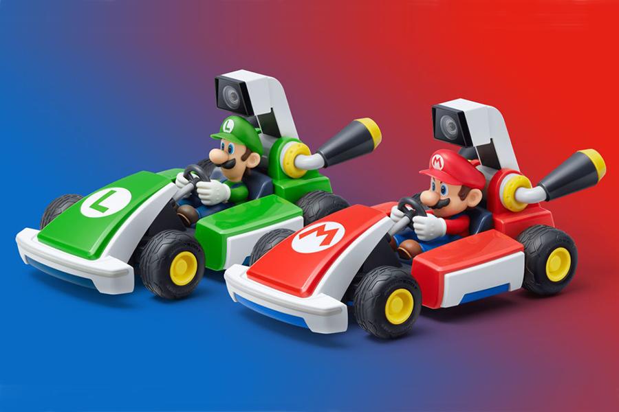 Mario Kart Live variiert in der Farbe