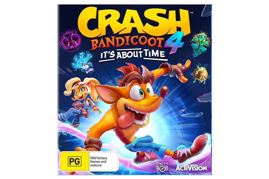 Crash Bandicoot für Weihnachten