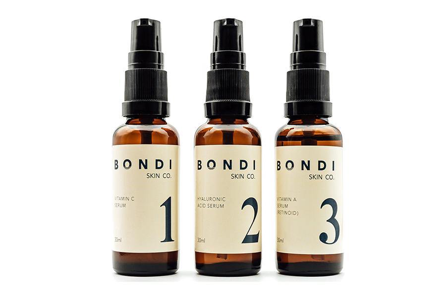 Weihnachtsgeschenkführer Groomer Bondi Skin Co. Anti-Aging-Pack