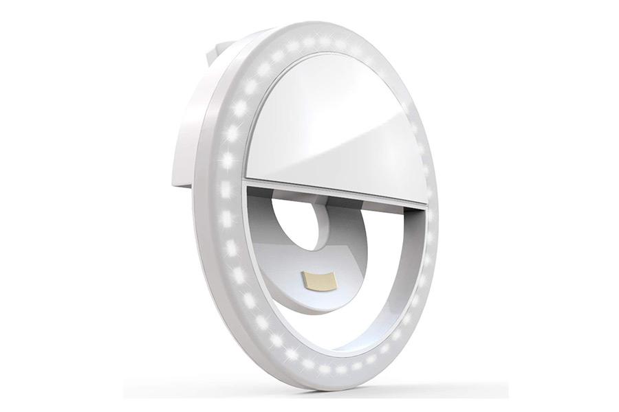 Selfie Ring Light, XINBAOHONG Wiederaufladbare tragbare Clip-on Weihnachtsführer Fotografie Enthusiast