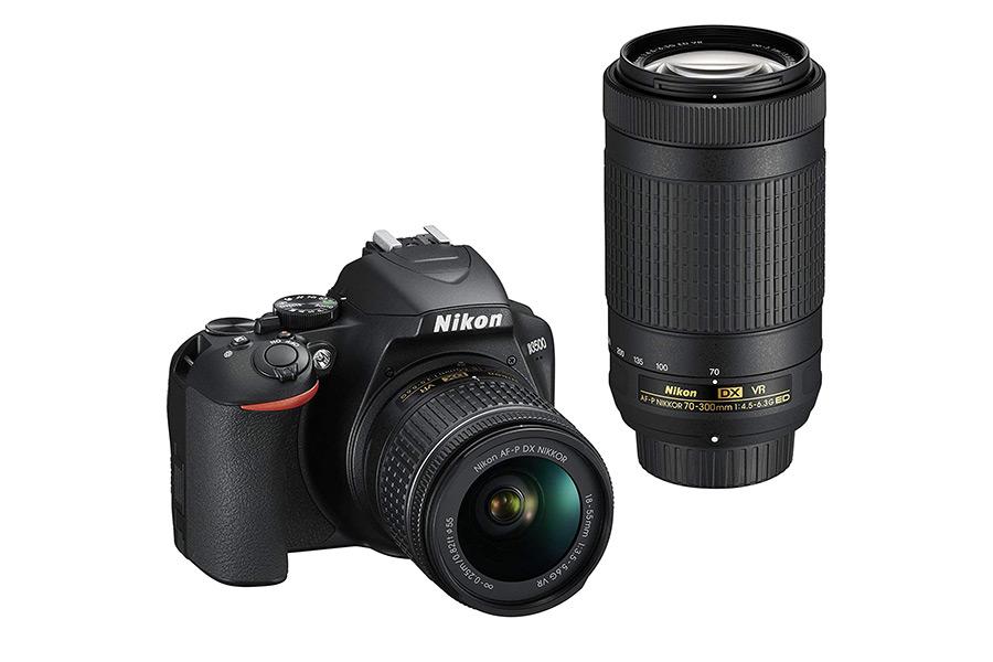 Nikon D3500 Twin Lens Kit Weihnachtsführer Fotografie Enthusiast
